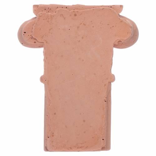 Semi capitello in terracotta s2