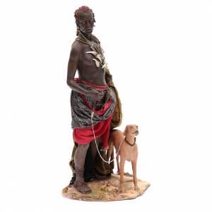 Servant with dog 30cm Angela Tripi s4