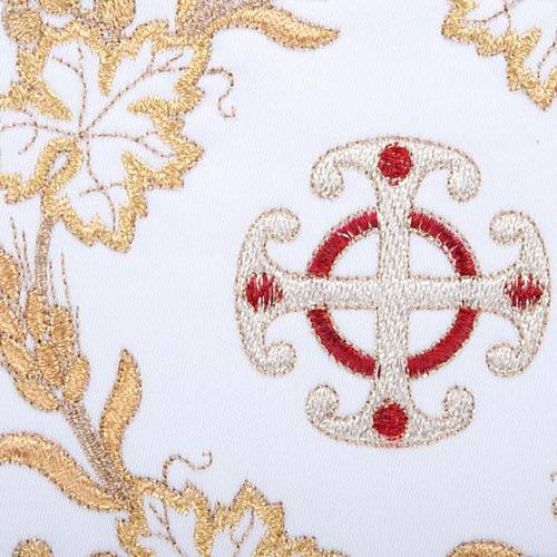 Servizio da messa 4pz. simboli croce e spighe dorate s3