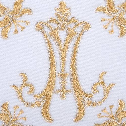 Servizio da mensa 4pz. simboli Mariano e gigli s3