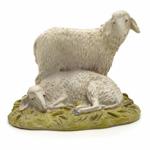 Sheep 12cm in resin s1