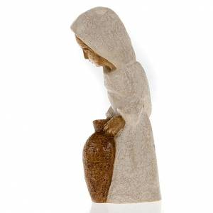 Bethléem Monastery Nativity scene: Shepherdess with amphora for small nativity scene
