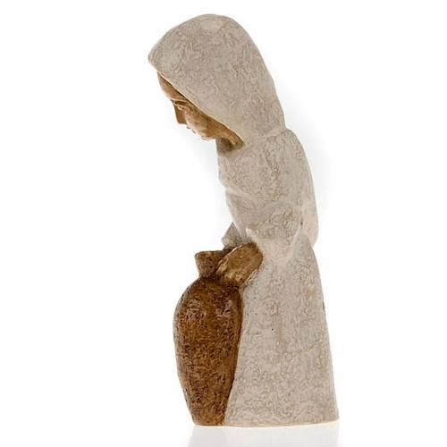 Shepherdess with amphora for small nativity scene s3