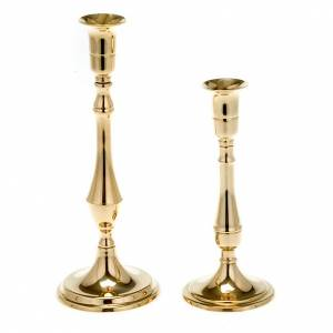 Metal candle holders: Simple candlestick