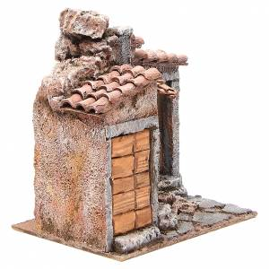 Simple Hut for Nativity 20x25x15cm s3