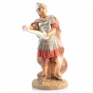 Soldato romano con pergamena Fontanini 6.5 cm s1