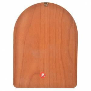 Stampa su legno 15x20cm San Pio s2