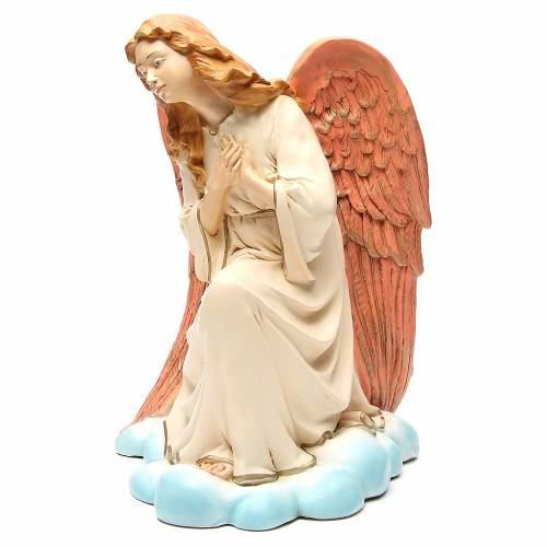 Statua angelo Gloria per presepe 65 cm s2