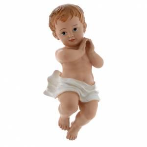 Statua Bambinello 39,5 cm resina s1