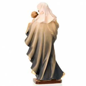 Statue in legno dipinto: Statua Madonna del cuore
