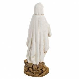 Statua Madonna di Lourdes resina 50 cm Fontanini s6