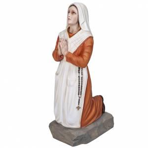 Statue in Vetroresina: S. Bernadette 50 cm Vetroresina