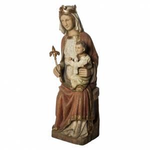 Vierge de Rosay 105 cm legno dipinto Bethléem s3