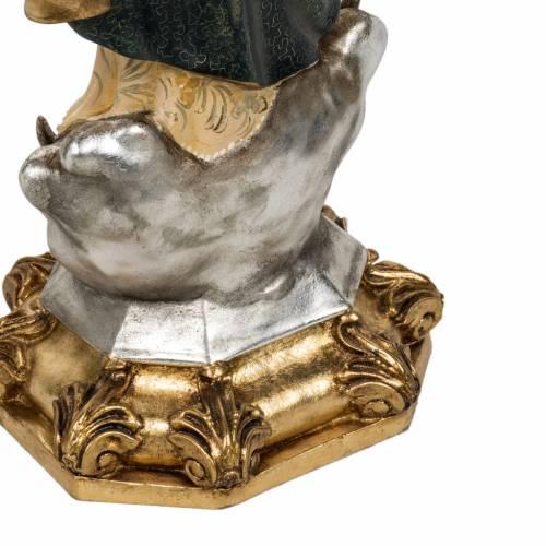 Statue Immaculée 50 cm pâte à bois extra s13