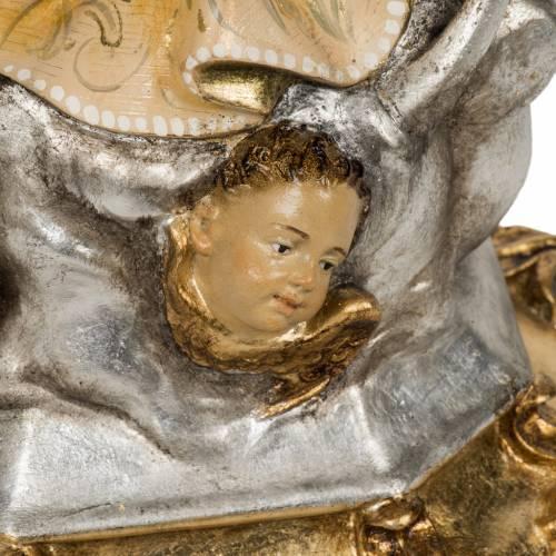 Statue Immaculée 50 cm pâte à bois extra s6