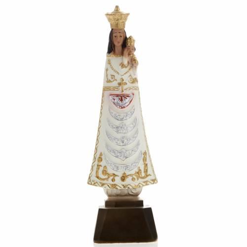 Statue Notre Dame de Loreto plâtre 25 cm s1