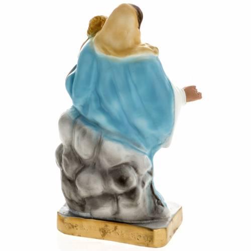 Statue Notre Dame des Neiges plâtre 30 cm s4