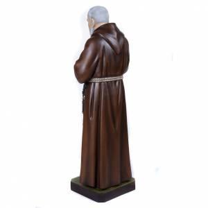 Fiberglas Statuen: Statue Pater Pio, Fiberglas 110 cm