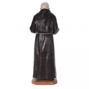Statue Saint Pio de Pietrelcina fibre de verre 175cm Landi s4