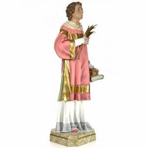 Statue Saint Étienne martyr 150 cm pâte à bois finition élégante s4