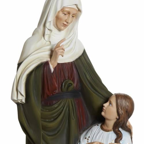 Statue Sainte Anne fibre de verre 80 cm s7
