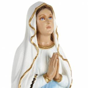Fiberglas Statuen: Statue Unsere Liebe Frau von Lourdes 70 cm Fiberglas