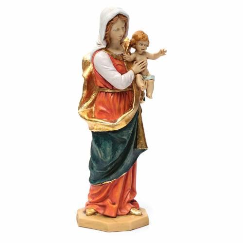 Statue Vierge à l'enfant 50 cm Fontanini s4