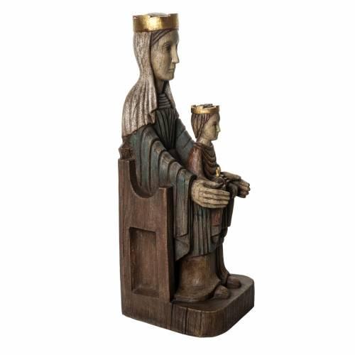 Statue Vierge Couronnée de Séez Bethléem s2