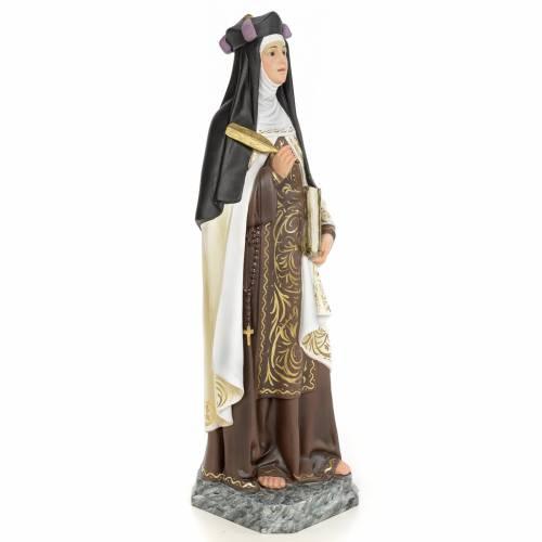Ste Thérèse de Jésus 60 cm pate bois s4