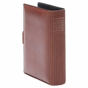 STOCK Couverture pour Missel EDB imitation cuir brun s3