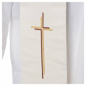 Stoles: Stole stylised cross 100% polyester