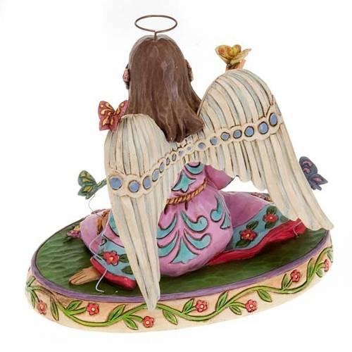 Summer's splendor surrounds us, ange avec papillons s4