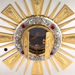 Tabernacle d'autel bronze fenêtre pour adoration s3
