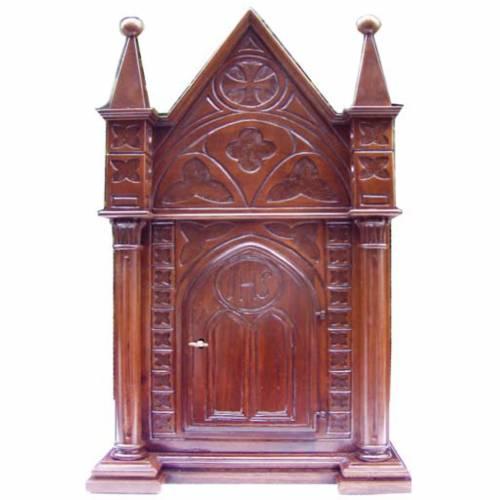 Tabernacle en bois 80x50x35 s1