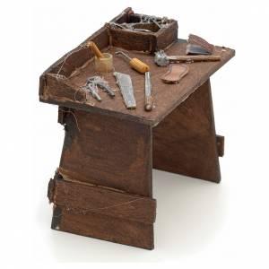 Table de travail en miniature crèche Napolitaine s2