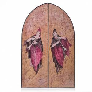 Tabula fenestrata Sacra Famiglia artista Mario Eremita s2