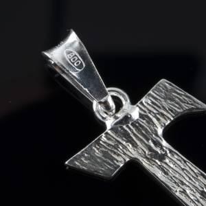 Tau in silver 800. 2 x 1,2 cm s4