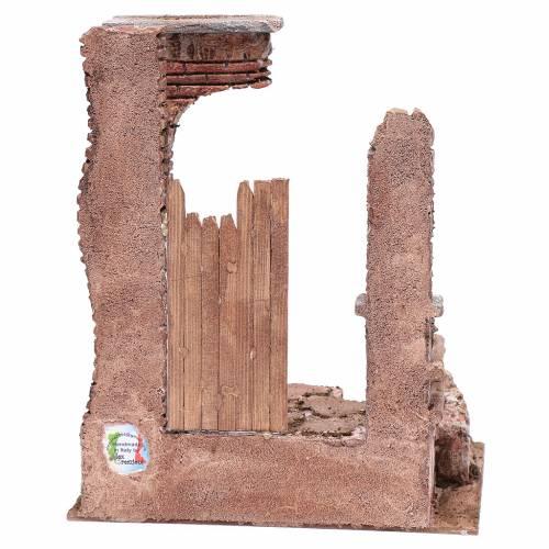 Tempio colonne in mattoni 30x25x20 cm s4