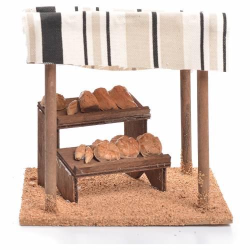 Tente arabe pain crèche 10 cm s1