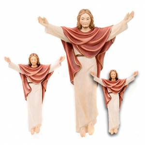 Hand painted wooden statues: The Resurrection of Jesus
