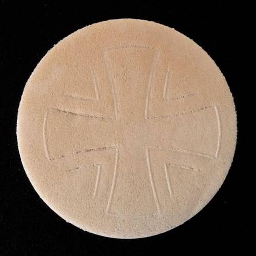 Thick altar bread 7.5 cm diameter 15 pcs bag s3