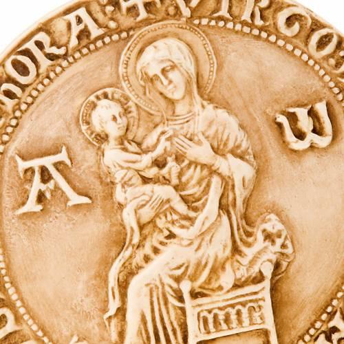 Bassorilievo Tondo Madonna con Gesù s2