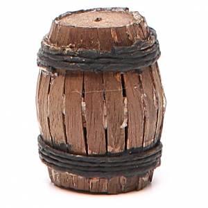 Tonneau 4 cm crèche napolitaine s1