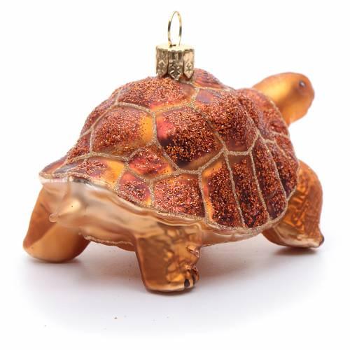 Tortuga de las Galapagos adorno vidrio soplado Árbol de Navidad s4