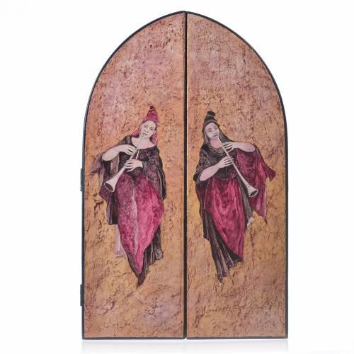 Triptyque à volets Sainte Famille artiste Mario Eremita s2