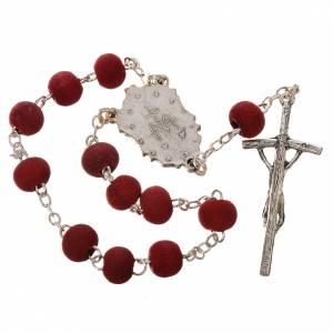 Rosaires de dévotion: Trisagio Idente pétale de rose