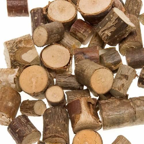 Set tronchetti di legno presepe fai da te s3