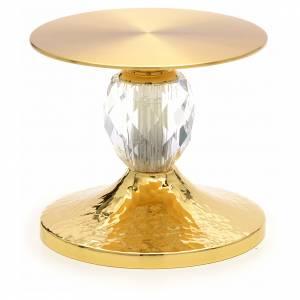 trône petite taille, base pour eucharistie avec cristaux s1
