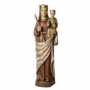 Vergine Normanna 103 cm legno dipinto Bethléem s1