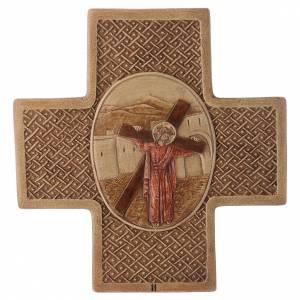 Vía Crucis: Vía Crucis 15 estaciones de piedra 22,5cm Bethléem